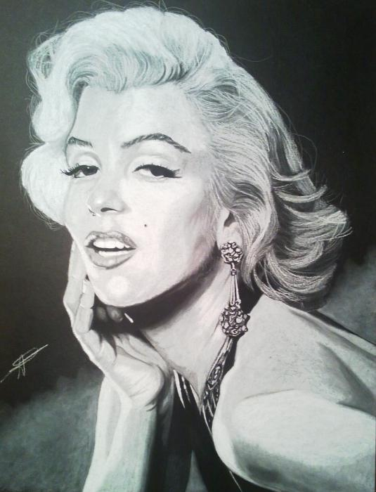 Marilyn Monroe by LUDO